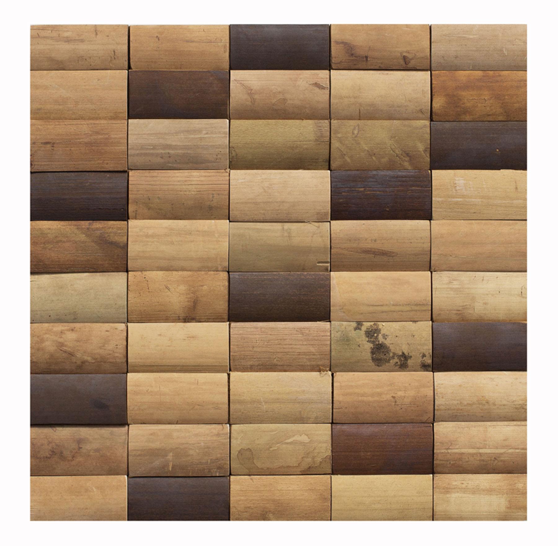 Bambus Mosaikfliesen als dekorative Wandverkleidung