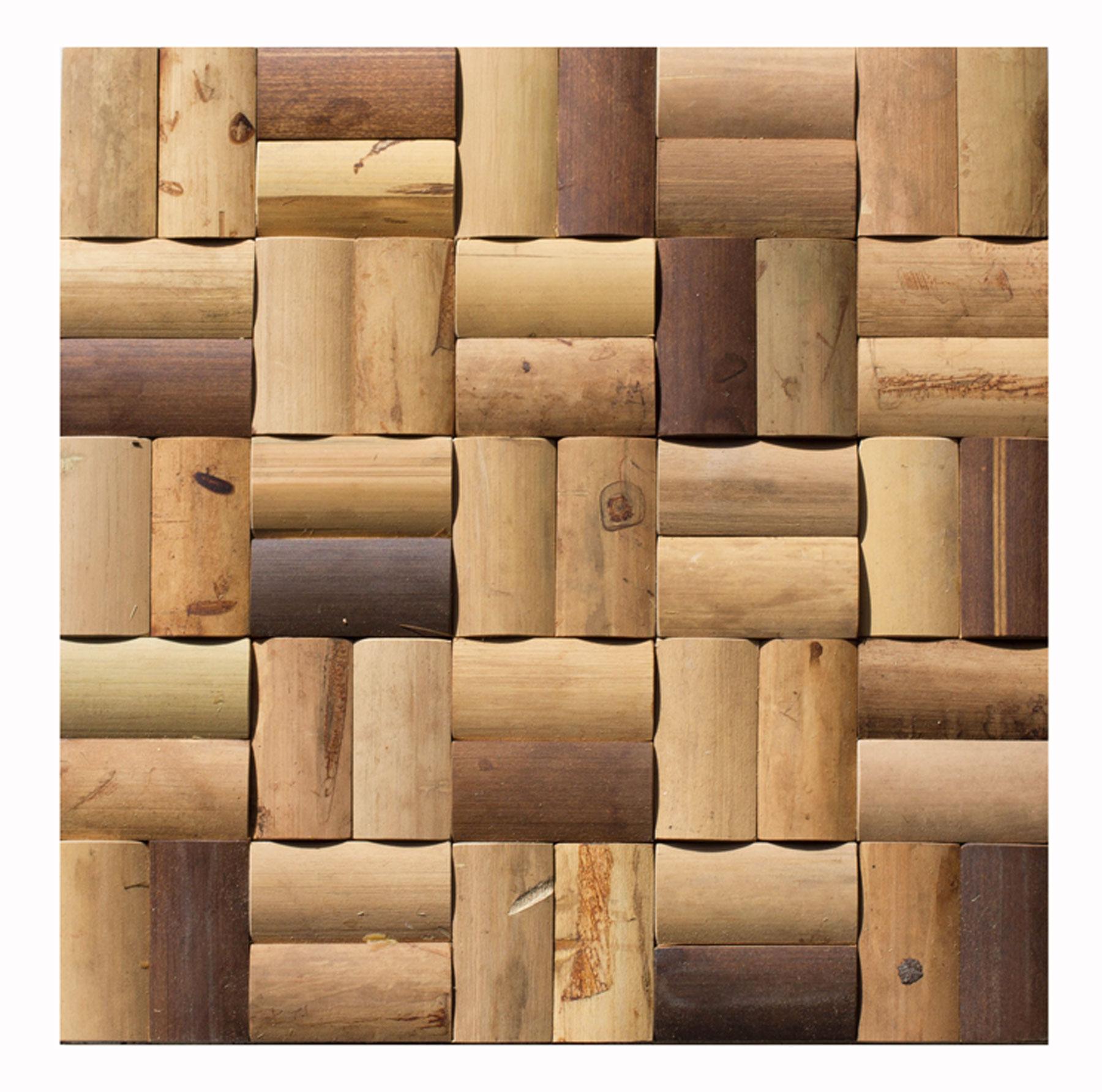 Holz-Mosaik-Verblender