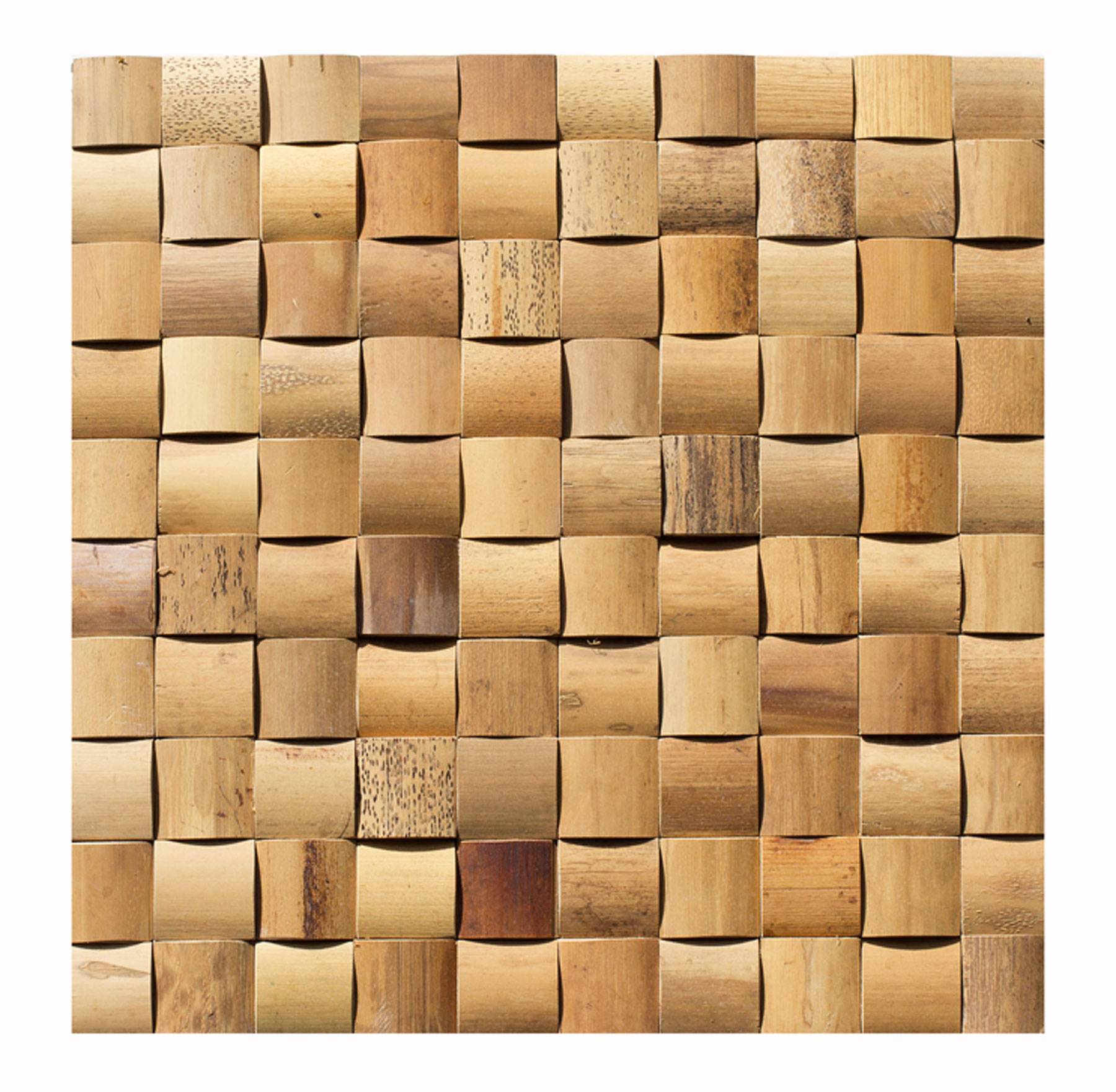 Bambusmosaik-Verblender