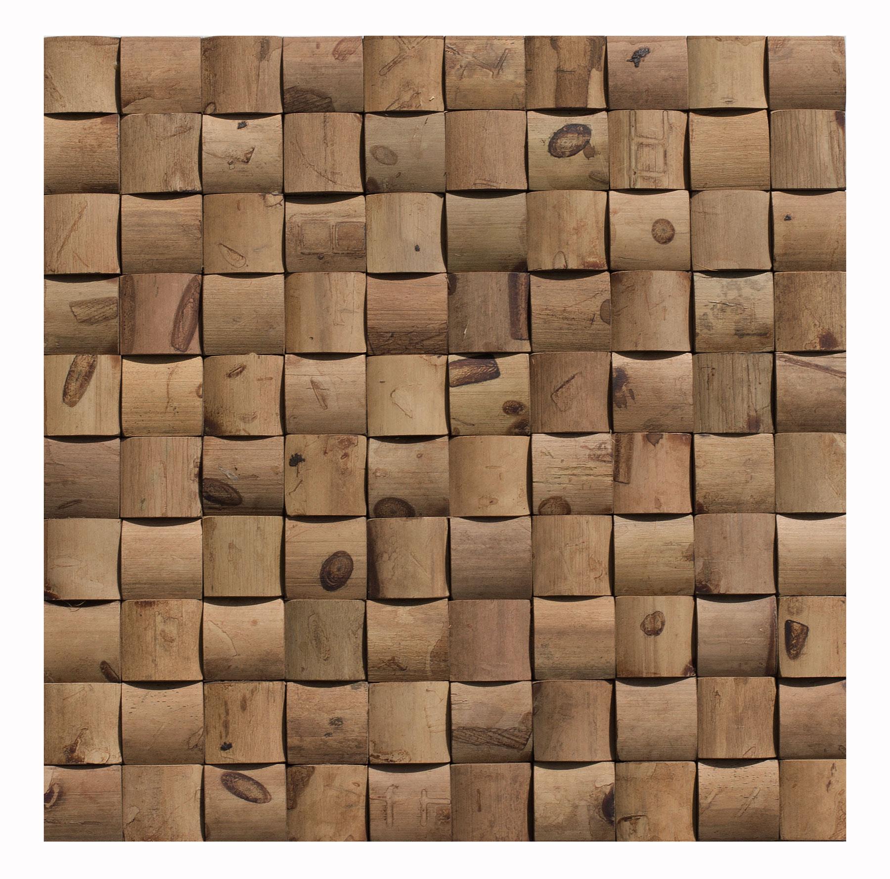 Bambusmosaik-Wandverblender